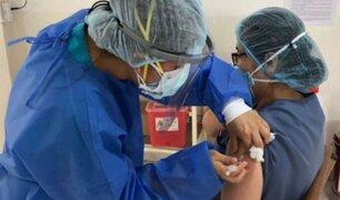 """""""A finales de julio el 61% de la población estaría vacunada contra el Covid-19"""", afirma ministro Ugarte"""