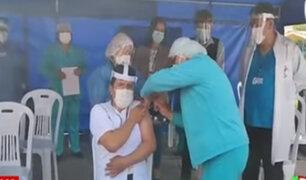 Regiones del Perú iniciaron vacunación contra el COVID-19