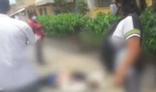 VMT: Conductor de camión y acompañante asesinaron a delincuente que intentó asaltarlos