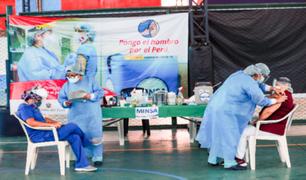 Maternidad de Lima y Hospital Santa Rosa recibieron más de 1.000  vacunas
