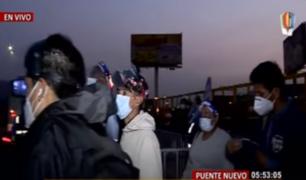 Puente Nuevo: ciudadanos reconocen que no se respetan medidas de cuarentena
