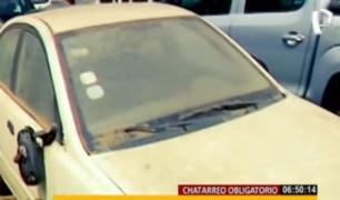 'Chatarreo' obligatorio eliminaría vehículos en depósitos municipales