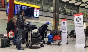 Reino Unido: hasta 10 años de cárcel para quienes oculten haber estado en un país de riesgo