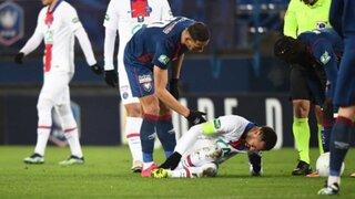 Preocupación en PSG: se lesiona Neymar y es duda para encuentro con Barcelona