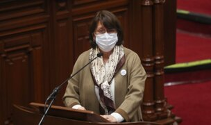 """Pilar Mazzetti sobre Vizcarra: """"el presidente de la República debe abstenerse de trabajar en un ensayo clínico"""""""
