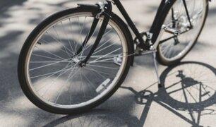 Breña: presuntos ancianos fueron captados robando bicicletas de alta gama
