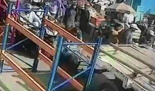 El Agustino: Banda delincuencial roba camiones en modalidad 'pirañas'