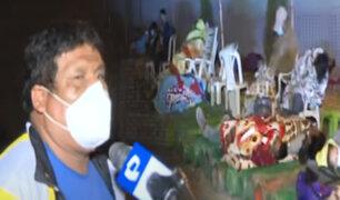 Cientos de personas realizan largas colas en la planta de oxígeno de VES