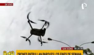San Isidro incorpora 5 drones de última generación para seguridad ciudadana