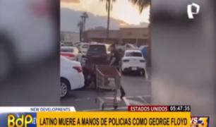 """""""No puedo respirar"""": latino muere como George Floyd en EEUU"""