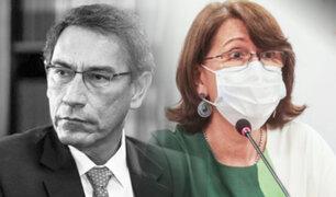 Presentan moción de censura contra Pilar Mazzetti