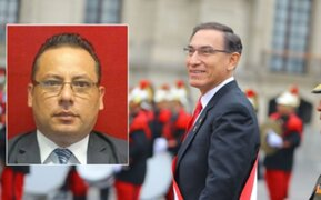 Exsecretario de Palacio dijo desconocer si Vizcarra fue vacunado en la sede de Gobierno