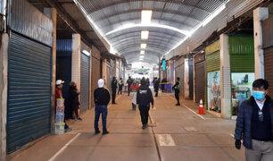 Cercado de Lima: vendedores del Triángulo de Grau realizan plantón exigiendo los dejen trabajar
