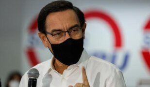 Martin Vizcarra asegura que no se arrepiente de haberse reunido con fiscales del caso Cuellos Blancos