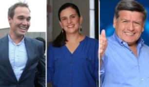 Acuña, Forsyth y Mendoza continúan recorriendo el país para dar a conocer su plan de gobierno
