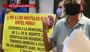 SJM: vecinos de Entel denuncian que alcaldesa no ha erradicado la prostitución