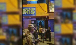 Intervienen a más de 90 jóvenes  en una fiesta Covid-19 en Los Olivos