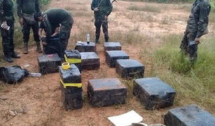 En amplio operativo decomisan más de media tonelada de clorhidrato de cocaína en Loreto