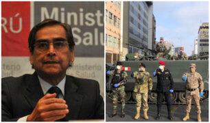 Vacuna Covid-19: Policía y Ejército empezará a ser vacunado, afirma ministro Ugarte