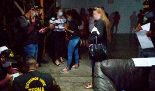Chiclayo: intervienen a 30 personas que participaban de una fiesta Covid-19 en pleno toque de queda