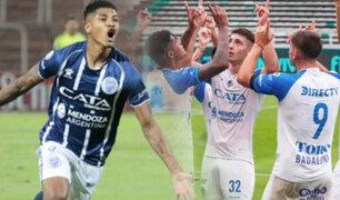 Wilder Cartagena: Godoy Cruz venció 2-1 al Aldosivi