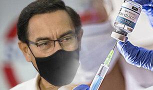 """Martín Vizcarra sobre vacunación clandestina: """"No le mentí al país"""""""