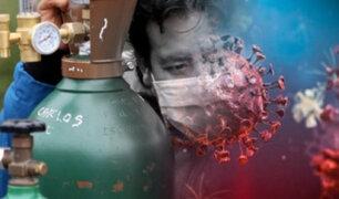 Lima Metropolitana: diez hospitales solo tienen oxígeno medicinal para 24 horas