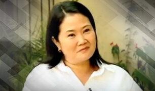 """Keiko: """"Debí pensar qué otras acciones pude tomar para que mi grupo político asumiera mejor los resultados y por eso pido perdón"""""""