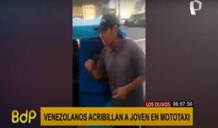 Los Olivos: extranjeros acribillan a joven en mototaxi a plena luz del día