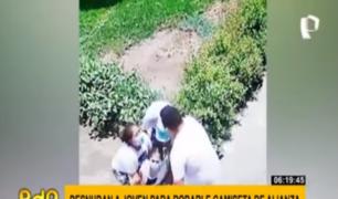 Jesús María: mujer es atacada para arrancarle camiseta de Alianza Lima