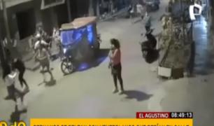 El Agustino: vecinos denuncian caos e inseguridad por malos ciudadanos extranjeros