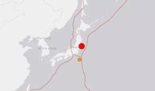 Japón: al menos 20 heridos tras terremoto de magnitud 7.1