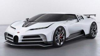 CR7 se engríe con un superexclusivo Bugatti Centodieci
