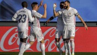 LaLiga: Real Madrid venció 2-0 a Valencia y apunta al Atlético