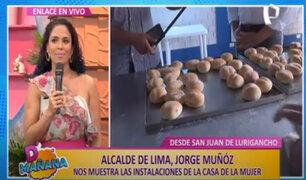 D´Mañana: Casa de la Mujer de la Municipalidad de Lima capacita en actividades productivas