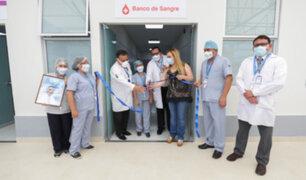 Huacho: inauguran moderno laboratorio y banco de sangre para atender la covid-19