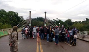 Diez de los haitianos que trataban de ingresar al Perú, dieron positivo a COVID-19
