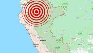 Sismo de magnitud 4.5 remeció Amazonas esta tarde