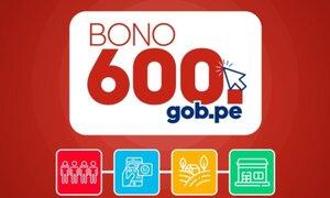 Bono 600 se pagará en cuatro fases bajo modalidades diferentes