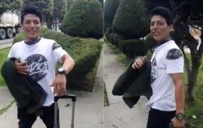 Cancillería publica comunicado sobre joven peruano lanzado de puente por extranjero