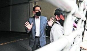 """Congreso debate admisión de denuncias contra Martín Vizcarra por el caso """"vacunagate"""""""