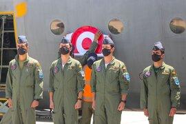 Presidente Sagasti y Ministra de Defensa recibieron dos aviones Hércules