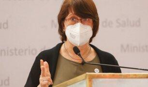 Pilar Mazzetti: Me vacuné el 12 de enero ante el avance de la segunda ola