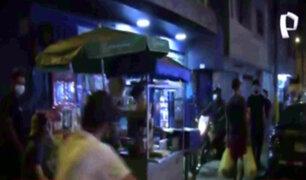 El Agustino: ciudadanos fueron intervenidos por realizar fiestas en vía pública