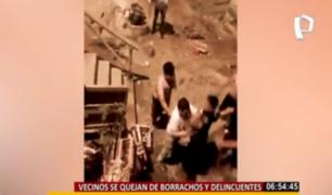 Chorrillos: vecinos de San Genaro viven en medio del caos y la inseguridad