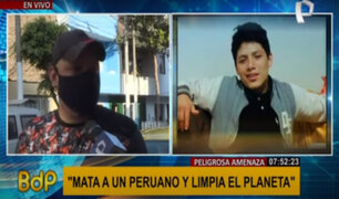 Venezolanos en Perú condenan actos delictivos de sus compatriotas contra peruanos