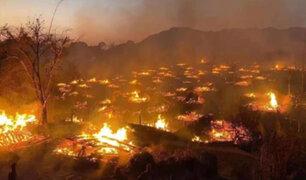 China: se incendia aldea tribal de más de 4 mil años de antigüedad