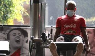 Selección Peruana: Farfán, Callens y López retomaron entrenamientos en La Videna