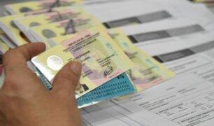 Lima registra hasta la fecha más de 100 mil choferes con licencias vencidas