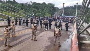 PNP y Fuerzas Armadas refuerzan frontera para evitar el ingreso de inmigrantes haitianos